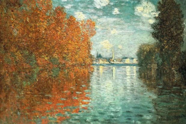 Claude Monet, Autumn Effect at Argenteuil (1873)