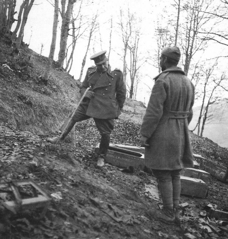 Ανάκριση Ιταλού αιχμαλώτου (1941)