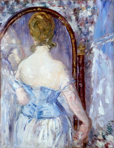Ed. Manet, μπροστά στον καθρέπτη Sol. R. Guggenheim 1876 Museum